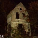 Chomętowo. Ruiny dworu z drugiej połowy XVIII w