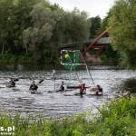 Trening kajak-polo na kanale Berlin-Spandauer