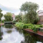 Spandau – część dzielnicy zwana Kolk z zachowanymi dawnymi murami miejskimi przy kanale młyńskim