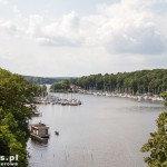 Widok na jezioro  Stößensee