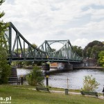 Most Glienicke (Glienicker Brücke) na rzece Havel