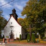 Kłebowiec. Kościół św. Heleny. Neogotycki, bud. 1925-1926