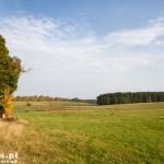 Krajobrazy w drodze na Rudnicę