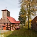 Górnica. Ryglowy kościół pw. Matki Bożej Królowej Polski z 1672 r.