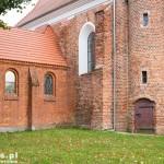 Marcinkowice. Zabytkowy kościół z 1628, rozb. koniec XIX/pocz. XX w.,