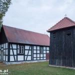 Martew. Drewniany kościół