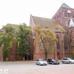 Choszczno. Gotycki kościół wzniesiony przez joannitów w XIV w