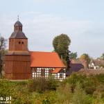 Dzierżążno Wielkie. Dawny kościół ewangelicki z 1595 r