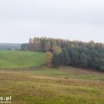 Krajobrazy w drodze na Dzierżążno Małe