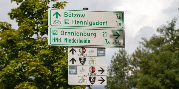 Rowerem wokół jezior Tegel i Niederneuendorf