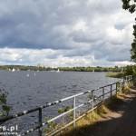 Ścieżka wzdłuż jeziora Tegel