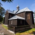 Budziszewko. Drewniany kościół św. Jakuba z 1755, przebudowany w latach 60