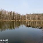 Ukryte w lesie Jezioro Sosnowice