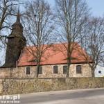 Przybiernów. Późnogotycki kościół z XIV w