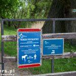 Otwarta brama do Parku Natury Zalewu Szczecińskiego