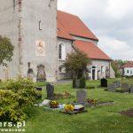 Cmentarz przy klasztorze Sankt Marienthal położony w pobliżu miasta Ostritz w jego części Marienthal nad Nysą Łużycką