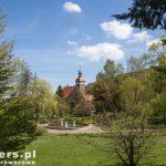 Jonsdorf, kościół z ciekawym wnętrzem tj. dwoma galeriami