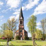 Strzelista wieża kościoła w Hornitz