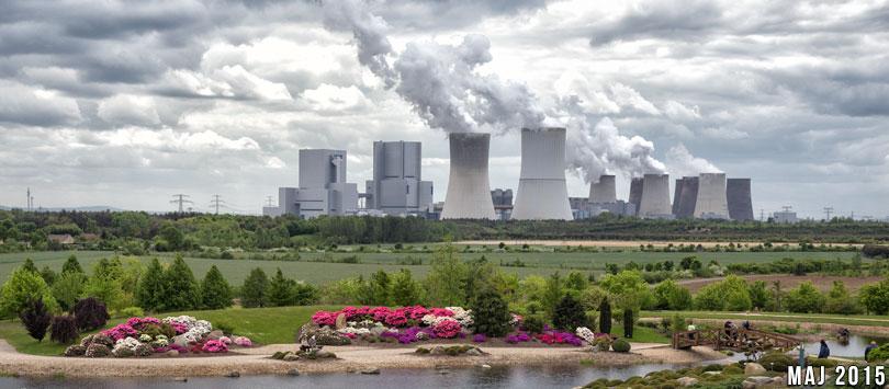 Kopalnia Nochten. Elektrownia Boxberg.