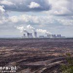 Elektrownia Boxberg widziana z punktu widokowego