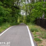 Droga prowadziła  wzdłuż kanału Szprewy
