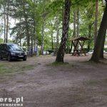 Leśny kemping w Kromlau