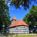Warnołęka. Szachulcowy kościół z początku XVIII w