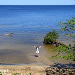 Klifowe wybrzeże Zalewu Szczecińskiego