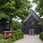 Ruchocice – drewniany kościół z 1730-37 kryty dachem gontowym