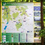 Mapa szlaków rowerowych na terenie gminy Rakoniewice
