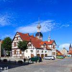 Nowe Warpno. Ratusz z muru pruskiego wzniesiony w 1697 roku