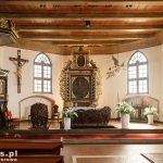 Nowe Warpno. Kościół pw. Wniebowzięcia NMP. Z XV w