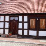 Nowe Warpno – stary ryglowy dom