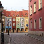 Poznań. Stary Rynek o poranku