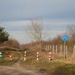 Szlak rowerowy prowadzi na pograniczu z poligonem wojskowym