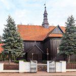 Chludowo. Drewniany kościół z 1736 r