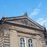 Łukowo – pałac. Dom mocno zaniedbany