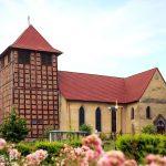 Kościół parafialny p.w. MBNP z wieżą ryglową