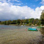 Plaża nad jeziorem Pile