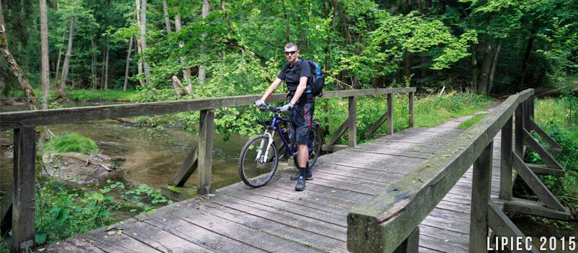 Rowerem przez Drawieński Park Narodowy