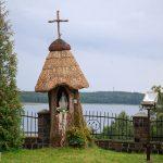 Kapliczka Matki Boskiej na terenie przykościelnym