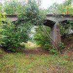 Wiadukt na nieczynnej linii kolejowej Łubowo Borne Sulinowo