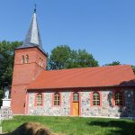 Karścinno. Kamienny kościół pw. MB Częstochowskiej