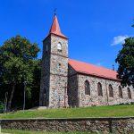 Gościnno. Kamienny kościół pw. Św. A. Boboli