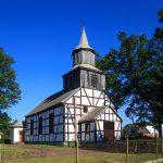 Sławoborze ryglowy kościół z 1846 roku
