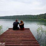 Jezioro Czarne – na pomoście