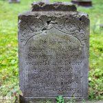 Ostrowite. Cmentarz ewangelicki założony w pierwszej połowie XIXw