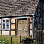 Stare Warpno – stary szachulcowy dom