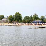 Uckermunde – plaża nad Zalewm Szczecińskim