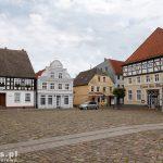 W Ueckermünde –  Stare Miasto z malowniczym  rynkiem